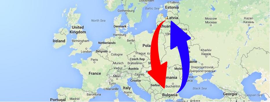 Kravu pārvadājumi Bulgārija