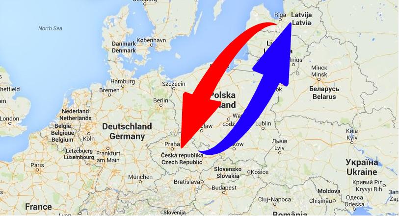 Kravu pārvadājumi Čehija