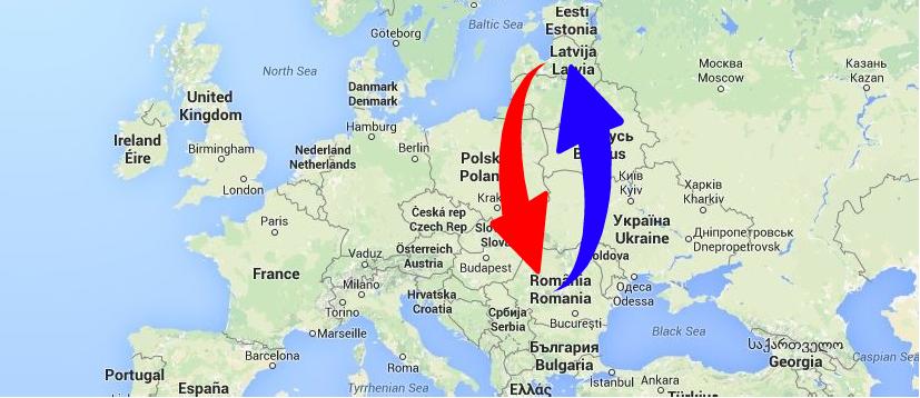 Kravu pārvadājumi Rumānija